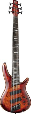 Ibanez SRMS806 BTT Brown Topaz Burst
