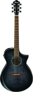 Ibanez AEWC400 TKS Transparent Black Sunburst