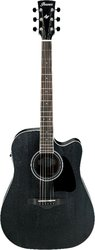 Ibanez AW84CE WK Weathered Black