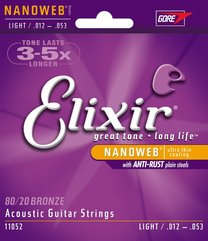 Elixir 11052 NANOWEB Light