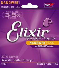 Elixir 11102 NANOWEB Medium