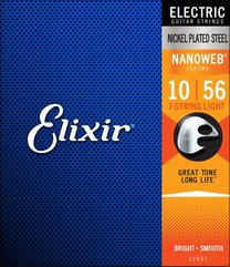 Elixir 12057 NANOWEB 7-String Light