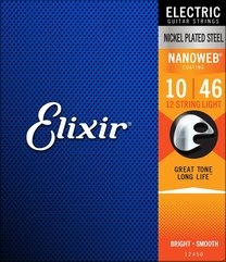 Elixir 12450 NANOWEB 12-String Light