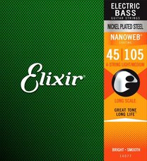 Elixir 14077 NANOWEB Long Scale