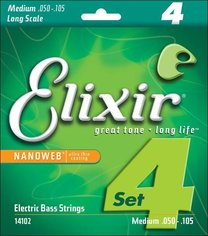 Elixir 14102 NANOWEB Long Scale