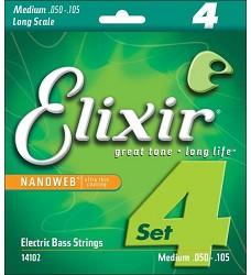 Elixir 14102 NANOWEB Long Scale