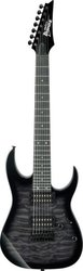 Ibanez GRG7221QA TKS Transparent Black Sunburst